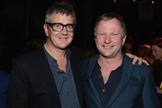 Founder of White Cube Jay Jopling and Founder/Chief Executive of Soho House Nick Jones attend the Art Basel Miami Kick Off Celebration hosted by Jay Jopling & Nick Jones at Soho Beach House on December 4, 2012 in Miami Beach, Florida.