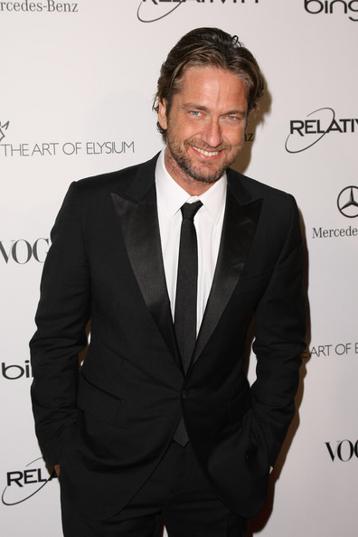 "Actor Gerard Butler attends the Art Of Elysium ""Heaven"" Gala 2011 at The California Science Center Exposition Park on January 15, 2011 in Los Angeles, California."