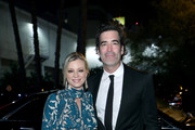 (L-R) Amy Smart and Carter Oosterhouse attend The Art Of Elysium Presents WE ARE HEAR'S HEAVEN 2020 at Hollywood Palladium on January 04, 2020 in Los Angeles, California.