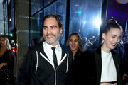Joaquin Phoenix and Rooney Mara Photos Photo