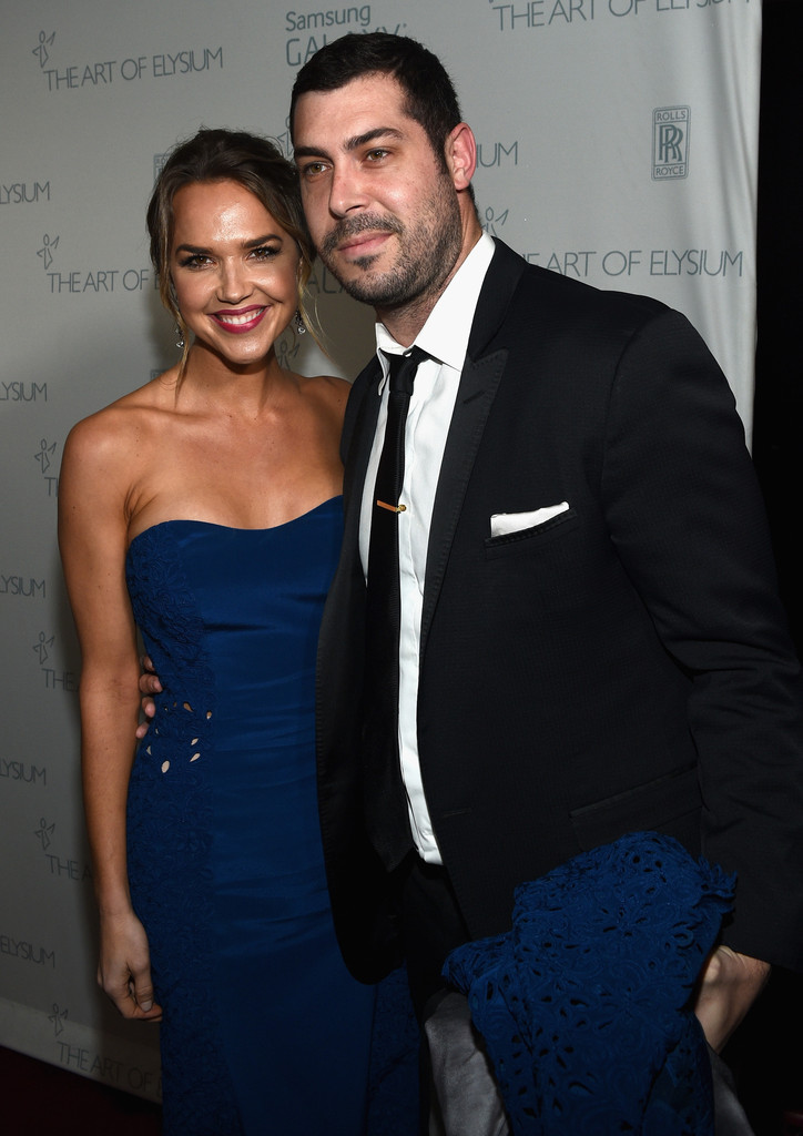 Arielle Kebbel and Aaron Bay-Schuck