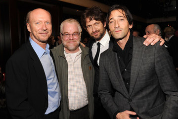 """Adrien Brody Paul Haggis Artists For Peace And Justice's """"Let's Build A School For Haiti"""" Fundraising Dinner - Inside"""