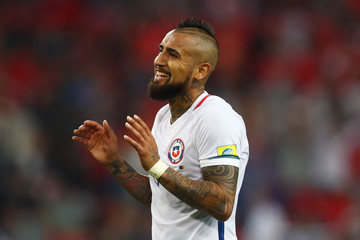Arturo Vidal Cameroon v Chile: Group B - FIFA Confederations Cup Russia 2017