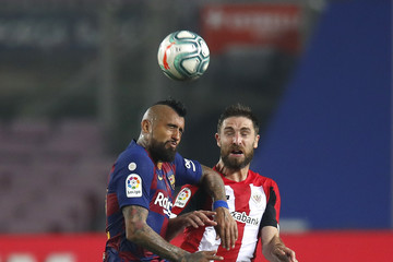Arturo Vidal FC Barcelona v Athletic Club  - La Liga