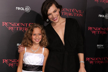 "Aryana Engineer Premiere Of Screen Gems' ""Resident Evil: Retribution"" - Red Carpet"