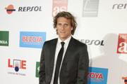 Diego Forlan attends As del Deporte Awards at Ifema Cityhall on November 30, 2010 in Madrid, Spain.