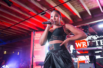 Ashanti Bud Light Factory At SXSW In Austin, TX - SPIN Showcase And Bud Light Music Showcase