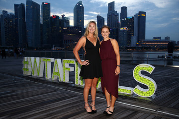 Ashleigh Barty BNP Paribas WTA Finals Singapore Presented By SC Global - Day 3