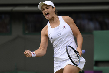 Ashleigh Barty Day Seven : The Championships - Wimbledon 2021