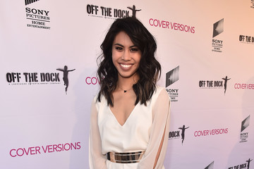Ashley Argota Premiere Of Sony Pictures Home Entertainment And Off The Dock's 'Cover Versions' - Red Carpet