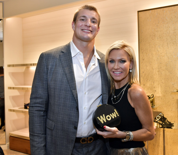 Opening of Salvatore Ferragamo Copley Place With New England Patriot Rob Gronkowski