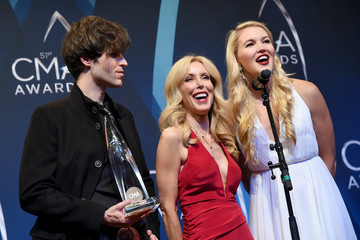 Ashley Campbell The 51st Annual CMA Awards - Press Room