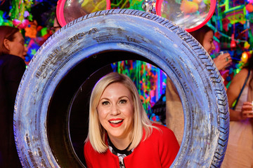 Ashley Eckstein Kenny Scharf Presents The Cosmic Cavern In Celebration Of Mickey's 90th Anniversary
