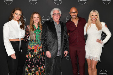 Ashley Graham Sir John Cocktails And A Conversation With The Stars Of Lifetime's 'American Beauty Star' Featuring Host And Executive Producer Ashley Graham, Mentor Sir John And Judges Christie Brinkley And Leah Wyar