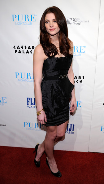 Ashley Greene Actress Ashley Greene arrives at the Pure Nightclub at Caesars Palace to celebrate her birthday early February 20, 2011 in Las Vegas, Nevada. Greene will turn 24 on February 21.