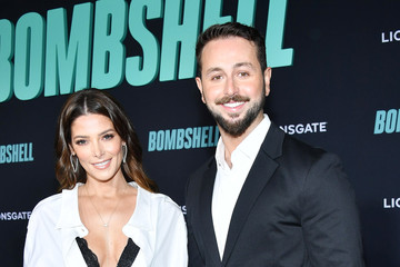 """Ashley Greene Paul Khoury Special Screening Of Liongate's """"Bombshell"""" - Red Carpet"""