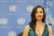 Actress/activist Ashley Judd attends a press conference held to announce her appointment as The UN Population Fund's (UNFPA) Goodwill Ambassador at United Nations on March 15, 2016 in New York City.