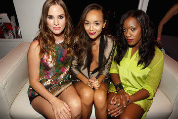 Ashley Madekwe Christa B. Allen NYLON + Sony September TV Issue Launch Event With Cover Star, Lea Michele