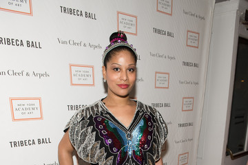 Ashley Sousa Celebrities Attend the 2015 Tribeca Ball