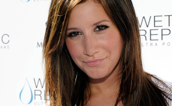 Ashley Tisdale Actress Ashley Tisdale arrives at the Wet Republic pool at the MGM Grand Hotel/Casino October 3, 2010 in Las Vegas, Nevada.