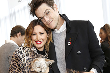 Ashley Tisdale Christopher French Brooks Brothers Hosts Annual Holiday Celebration To Benefit St. Jude At West Hollywood EDITION