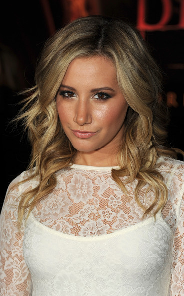 "Ashley Tisdale Actress Ashley Tisdale arrives at the premiere of Summit Entertainment's ""The Twilight Saga: Breaking Dawn - Part 1"" at Nokia Theatre L.A. Live on November 14, 2011 in Los Angeles, California."