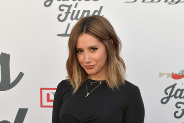 Ashley Tisdale Steven Tyler And Live Nation Presents Inaugural Gala Benefitting Janie's Fund - Arrivals