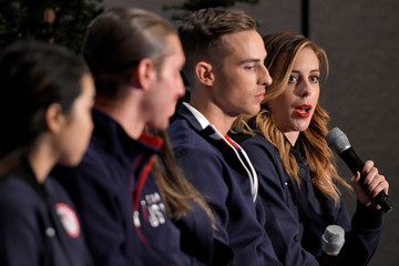 Ashley Wagner Team USA Media Summit News Conferences & Breakouts