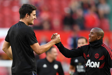Ashley Young Manchester United vs. Leicester City - Premier League