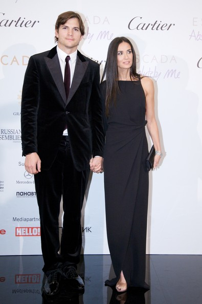 Ashton Kutcher Demi Moore and Ashton Kutcher attend the red carpet for the Demi & Ashton Foundation and the Russian Assemblies Charity Gala at the Ritz-Carlton hotel on October 30, 2010 in Moscow, Russia.