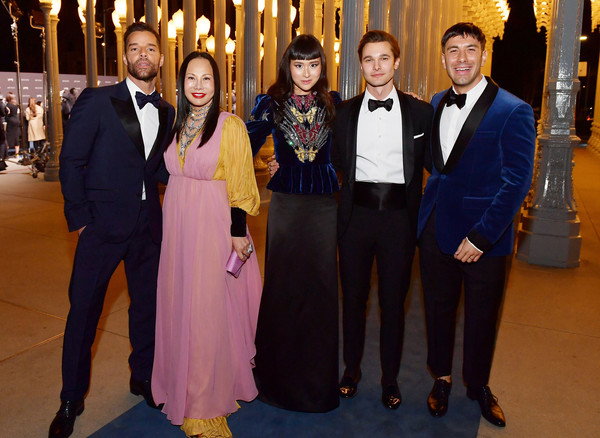 2019 LACMA Art And Film Gala Honoring Betye Saar And Alfonso Cuarón - Inside [event,formal wear,suit,tuxedo,ceremony,eva chow,betye saar,alfonso cuar\u00f3n,asia chow,ricky martin,jwan yosef,l-r,lacma,gucci,lacma art film gala]