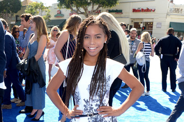 Asia Monet Ray Premiere of Warner Bros. Pictures' 'Storks' - Red Carpet