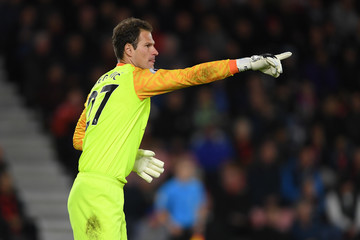Asmir Begovic AFC Bournemouth vs. Crystal Palace - Premier League