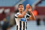 Hatem Ben Arfa of Newcastle United in action during the Barclays Premier League match between Aston Villa and Newcastle United at Villa Park on September 14, 2013 in Birmingham, England.
