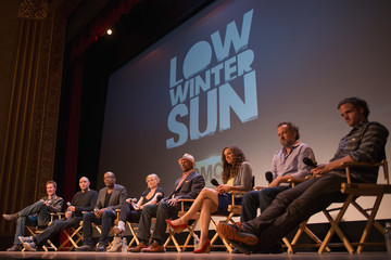 "Athena Karkanis Cast Of AMC's ""Low Winter Sun"" Q&A With Art House Convergence"