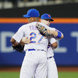 David Wright and Jeurys Familia Photos