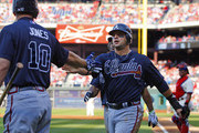 Chipper Jones Martin Prado Photos Photo