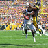 Desmond Trufant Photos - Desmond Trufant #21 of the Atlanta Falcons breaks up a pass intended for Antonio Brown #84 of the Pittsburgh Steelers in the first half during the game at Heinz Field on October 7, 2018 in Pittsburgh, Pennsylvania. - Atlanta Falcons vs. Pittsburgh Steelers