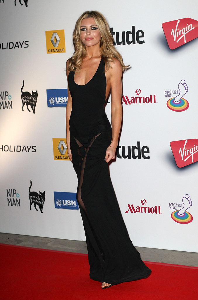 Abbey Clancy attends the Attitude Magazine awards at Royal Courts of Justice, Strand on October 15, 2013 in London, England.