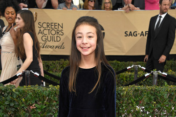 Aubrey Anderson-Emmons The 23rd Annual Screen Actors Guild Awards - Arrivals
