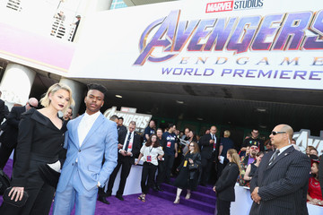 Aubrey Joseph Audi Arrives At The World Premiere Of 'Avengers: Endgame'