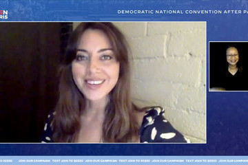 Aubrey Plaza Musical Acts Perform For The 2020 Democratic National Convention