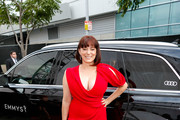 Actress Rachel Bloom arrives at Audi Celebrates the 71st Creative Arts Emmy Awards at Microsoft Theater on September 15, 2019 in Los Angeles, California.