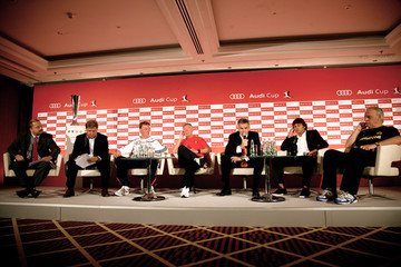 Toni Melfi Audi Cup 2009 - Press Conference