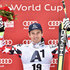 (FRANCE OUT) Matthias Mayer of Austria takes 1st place  during the Audi FIS Alpine Ski World Cup Men's Downhill on February 21, 2015 in Saalbach, Austria.