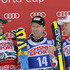Hannes Reichelt Alexis Pinturault Photos - (FRANCE OUT) Hannes Richest of Austria takes 1st place,Kjetil Jansrud of Norway Takes 2nd placeAlexis Pinturault of France Takes 3rd place  during the Audi FIS Alpine Ski World Cup Men's SuperG on December 06, 2014 in Beaver Creek, Colorado. - Audi FIS Alpine Ski World Cup - Men's Super Giant Slalom
