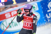 Tessa Worley of France takes 2nd place during the Audi FIS Alpine Ski World Cup Women's Giant Slalom on December 27, 2016 in Semmering, Austria