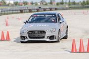 Dax McCarty drives as Audi hits the track with Major League Soccer All-Star players ahead of MLS All-Star Game in Chicago at Autobahn Country Club on August 1, 2017 in Joliet, Illinois.