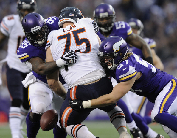 Audie Cole Photos Chicago Bears V Minnesota Vikings Of - Audie cole