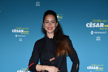 Audrey Dana 'Les Nuits en Or 2017' Dinner Gala - Photocall At Unesco